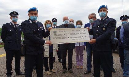 I dipendenti del carcere di Cremona donano oltre 4mila euro all'ospedale FOTO