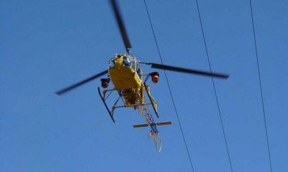 Parte dal cielo il controllo delle linee elettriche nella provincia di Cremona