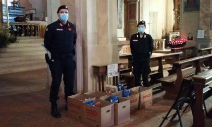 Colletta tra carabinieri per donare generi alimentari a famiglie bisognose