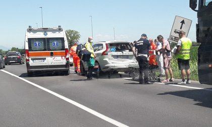Camion tampona Suv a Crema: 6 feriti, tra i quali quattro adolescenti