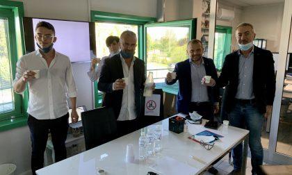 L'assessore Rolfi in visita all'azienda agricola Eredi Carioni di Trescore Cremasco