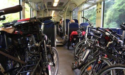 Biciclette a bordo treno: ecco su quali linee saranno ammesse