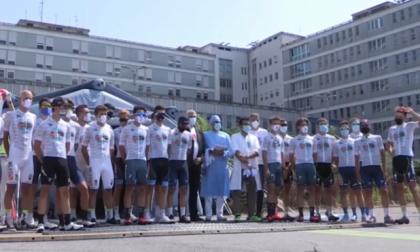 Ciclopedalata per le vittime del Covid da Codogno a Vò, passando dall'Ospedale di Cremona