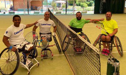 Tennis in carrozzina: alla Canottieri Baldesio un weekend ricco di iniziative
