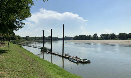 Portata fiume Po ancora sopra i minimi storici, ma preoccupa il caldo
