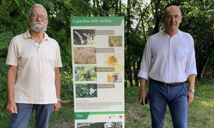 """Prosegue la valorizzazione del """"Giardino delle farfalle"""" FOTO"""