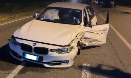 Schianto tra vetture a Romanengo: 9 feriti, 4 sono bambini FOTO