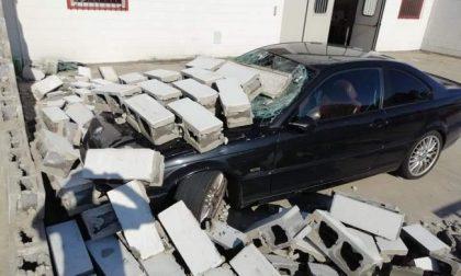 Tromba d'aria nel Cremasco, a Vailate si contano i danni FOTO