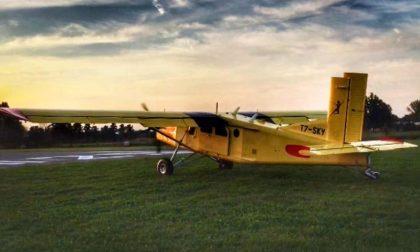 Precipita aereo in località Livrasco: morti il pilota e un paracadutista