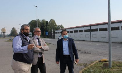 Il Presidente Signoroni a Vescovato per parlare di viabilità e sicurezza stradale