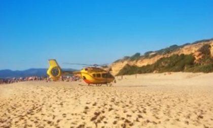 Turista cremonese rischia di annegare in vacanza in Sardegna