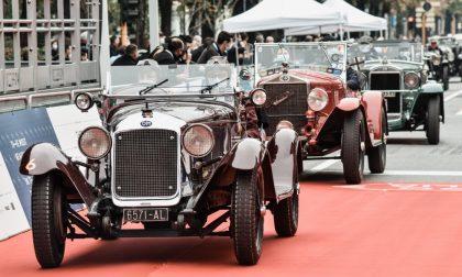 MilleMiglia 2020: oggi le auto storiche sfileranno davanti al Castello di Pandino FOTO