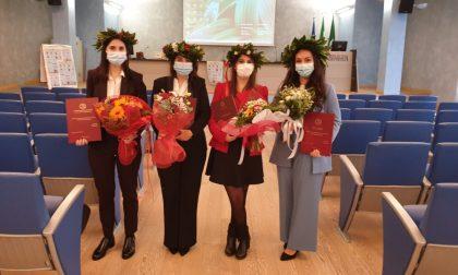 A Crema 9 nuove infermiere laureate pronte ad affrontare il Covid FOTO