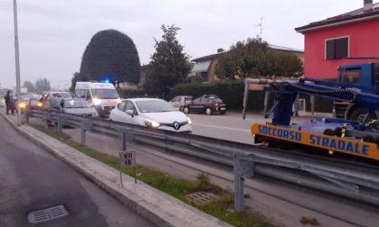 Tamponamento tra più veicoli, traffico rallentato a Pandino