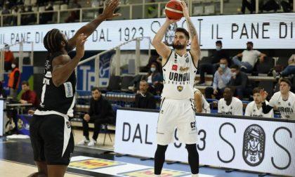 Vanoli Cremona beffata ai tempi supplementari: Trento vince 85-83
