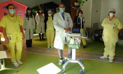 Dipendenti rinunciano al Panettone di Natale per donare attrezzature alla Pediatria di Cremona