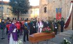 """L'ultimo saluto al comandante Nocera: """"Schivo di onori, era pago solo di aver servito i cittadini"""" FOTO"""
