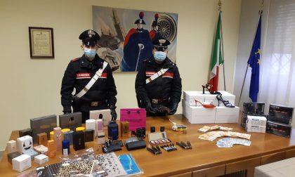 Ucraino denunciato a Spino, in casa 100mila euro di cosmetici rubati alla Intercos VIDEO