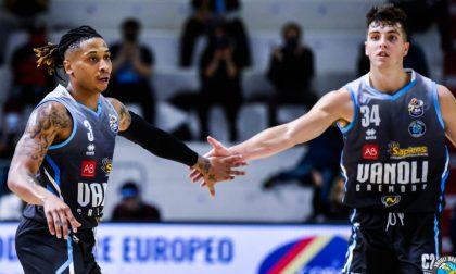 Covid: la Vanoli Basket sospende a scopo precauzionale l'attività della prima squadra