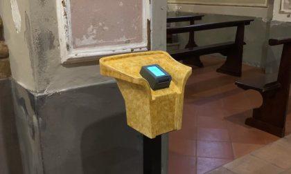L'offerta a Messa si fa con il Bancomat: in chiesa a Cicognara arriva il Pos VIDEO