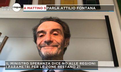 """Lombardia zona rossa (almeno) fino al 27 novembre, Fontana: """"Ma abbiamo numeri da zona arancione"""""""