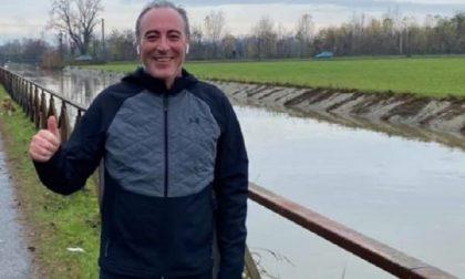 L'assessore Giulio Gallera corridore… fuori dal Comune