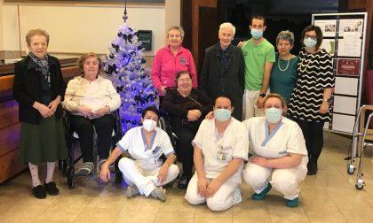 """RSA """"Villa Abbadia"""" resta Covid free e i nonni si preparano al Natale"""