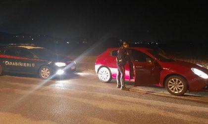 Intercettati su auto rubata scatta l'inseguimento da Soncino al Bresciano
