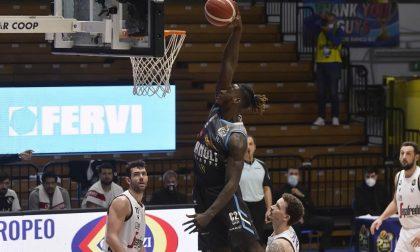 La Vanoli si arrende alla Virtus Segafredo: al Palaradi passa Bologna 88-75