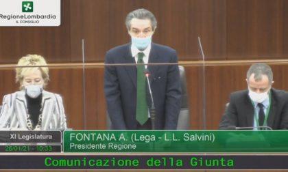 """""""La misura è colma"""": Fontana riferisce in Consiglio regionale sulla zona rossa"""