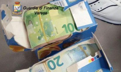Sequestro a Malpensa, nascosti nelle scatole della pasta quasi 70mila euro