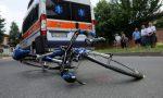Travolto in bici da un'auto, inutili i soccorsi per un ciclista di Trescore Cremasco