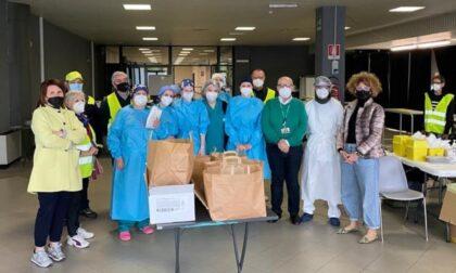 Colazione in omaggio per i sanitari dell'Hub Cremona Fiere