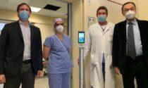 Più sicurezza per utenti e personale: donato un termoscanner all'Ospedale di Crema