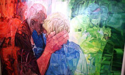 Un dono per l'Ospedale di Cremona: nel dipinto di Valcarenghi il racconto di un anno intero di pandemia