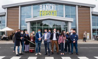 Tutto pronto per l'arrivo di Banco Fresco in Lombardia, oggi si apre a Crema