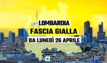 Oggi la Lombardia torna in zona gialla, ecco cosa cambia