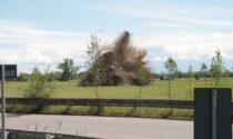 Il video e le foto della bomba disinnescata dagli artificieri del Genio Guastatori di Cremona