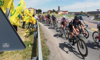 Cremona, il Giro d'Italia accolto dalle bandiere gialle di Coldiretti
