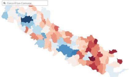 Cartina Geografica Cartina Comuni Della Provincia Di Cremona.Dove Si Guadagna Di Piu Ecco La Mappa Dei Paperoni Cerca Il Tuo Comune Prima Cremona