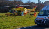 Schianto tra auto e furgone, elisoccorso a Dovera: grave automobilista