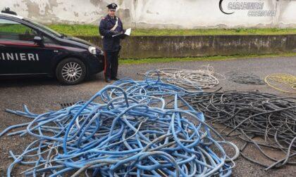 Rubava cavi di rame in autostrada: arrestato camionista 33enne