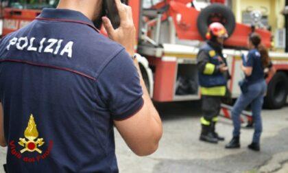 Incendio in via Panfilo Nuvolone: tre intossicati, tra cui un ragazzino di 11 anni