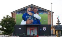 Euro 2020, l'abbraccio di Wembley diventa un murales: Mancini all'inaugurazione?