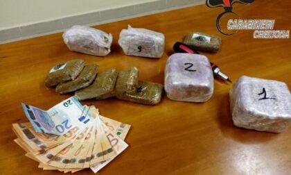 Spacciatore sorpreso con 2 kg di droga, scappa ma poi viene arrestato