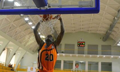 Il nigeriano Destiny Agbamu alla Vanoli Basket