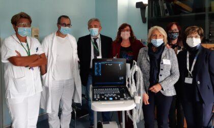 Nuovo ecografo all'ematologia dell'ospedale di Cremona grazie ad Ail