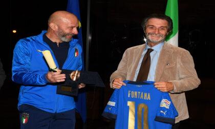 """A Gianluca Vialli il premio Rosa Camuna: """"Un riconoscimento al campione e soprattutto all'uomo"""""""
